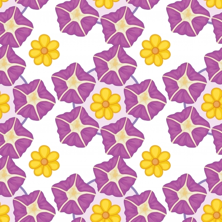 beautification: Illustration of a seamless wallpaper design