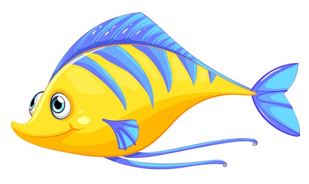 colorful fish: Illustration of a fish