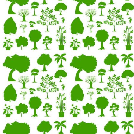 recursos naturales: Ilustración de la plantilla transparente verde sobre un fondo blanco