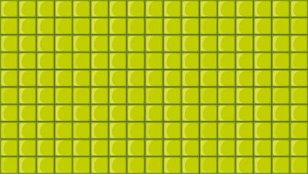 texturized: Illustration of the green tiles Illustration