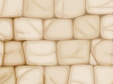Illustration of a wall made of bricks