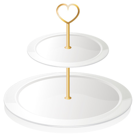 melaware: Illustration of a cupcake tray on a white background