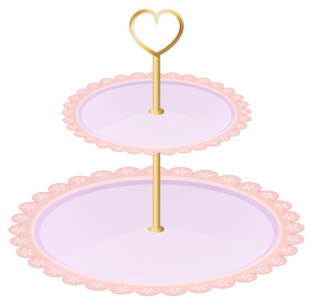melaware: Illustration of an empty cupcake tray on a white background