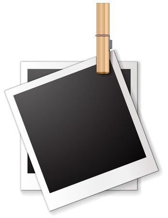 ilustration: Ilustration of two blank frames