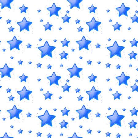 estrella azul: Ilustration de un fondo azul estrella