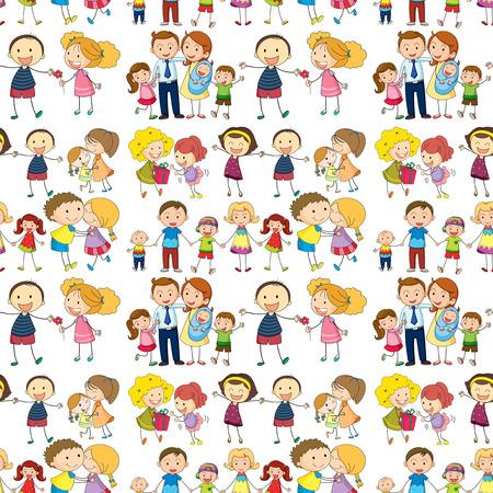 シームレスな家族の実例