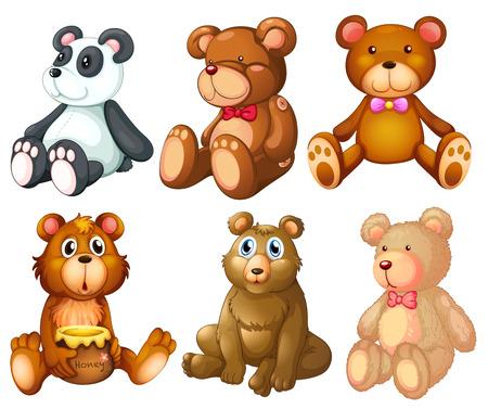 Illustration of stuffed animal Vector