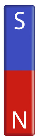 magnetization: illustration of a single magnet