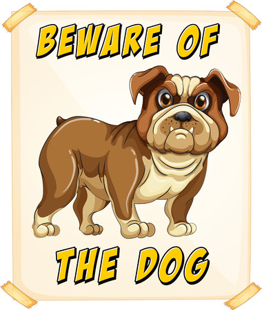 beware of the dog: Beware of the dog poster
