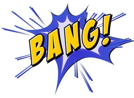 bang: Bang on blue and yellow