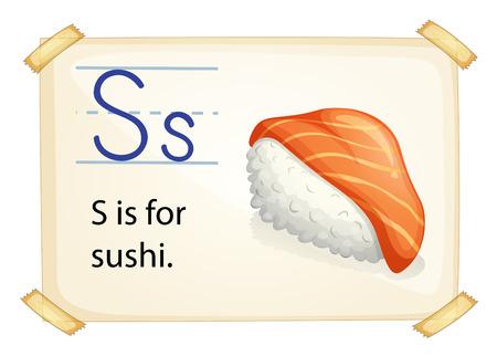 alphabet s: Cartel de un alfabeto S Vectores