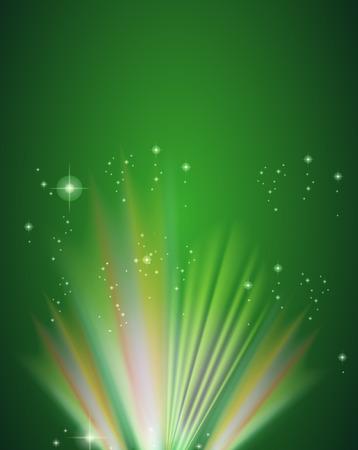 enhancement: A green template Illustration