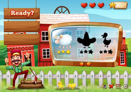 Ilustracja sceny z gry komputerowej