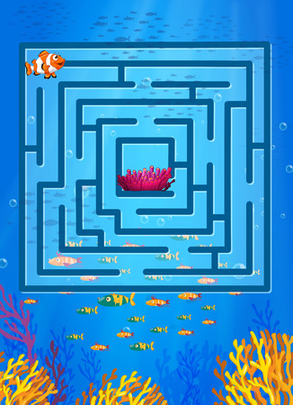 nemo: Maze game with underwater theme