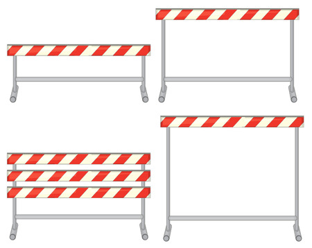 obstacles: Illustration of a set of obstacles