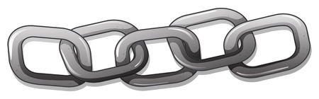 linking: Illustration of a metal chain