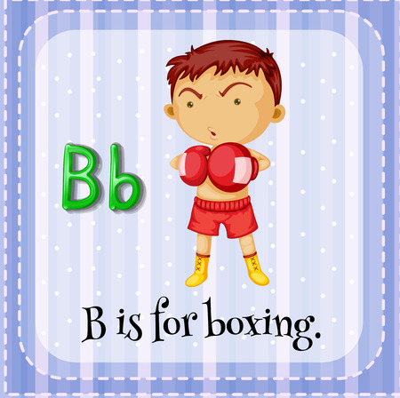 which: A letter B which stands for boxer