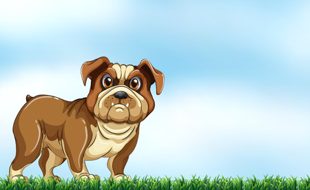 bestfriend: An angry dog Illustration