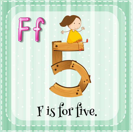 linguistic: Alphabet F is for five
