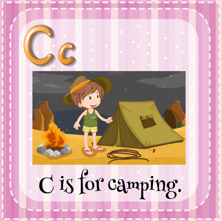 phonetic: C is for camping