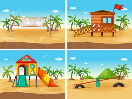 strand en speeltuin