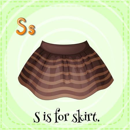 phonetic: S is for skirt
