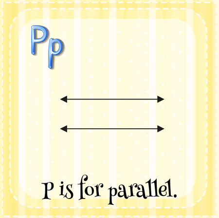 phonetic: P is for parallel