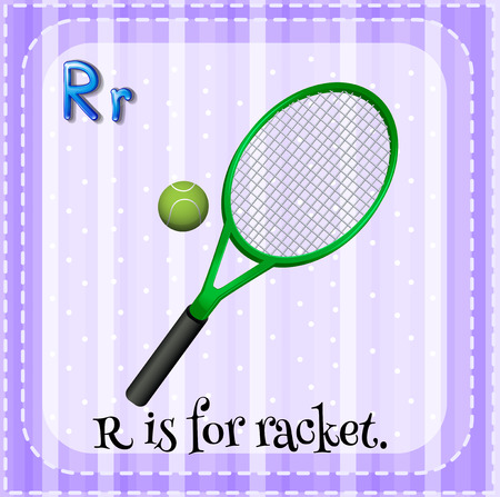 phonetic: R is for racket