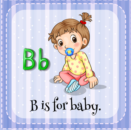phonetic: B is for baby