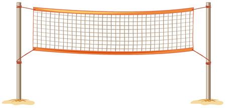 close up volleybalnet