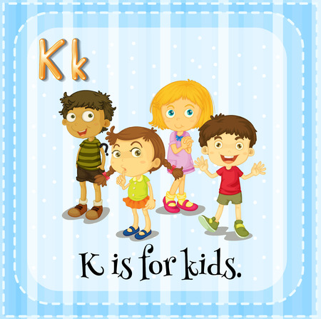 phonetic: K is for kids