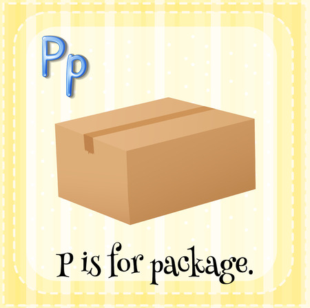 phonetic: P is for package Illustration