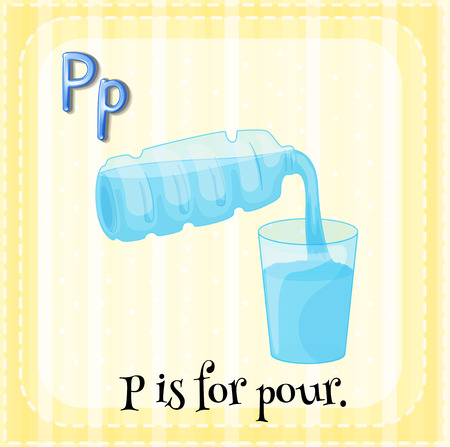 phonetic: P is for pour