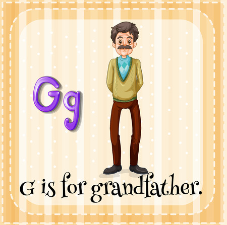 phonetic: G is for grandfather