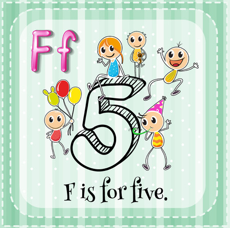 phonetic: Alphabet F is for five
