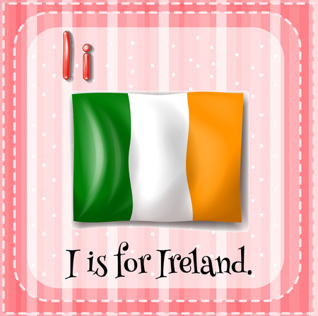 phonetic: Letter I is for Ireland