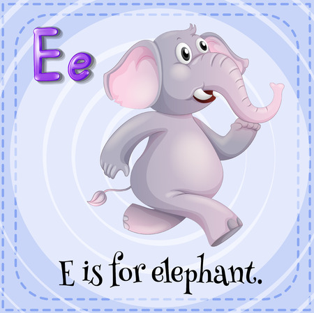 phonetic: E is for elephant