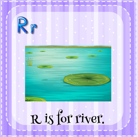 phonetic: R is for river