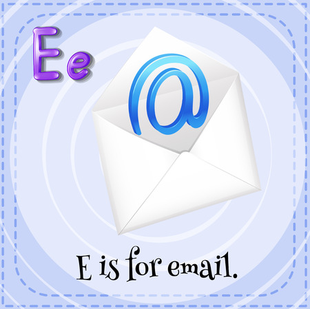 phonetic: Alphabet E is for email
