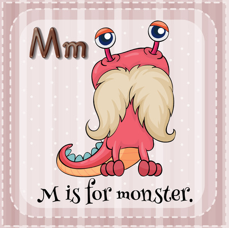 phonetic: Alphabet M is for monster
