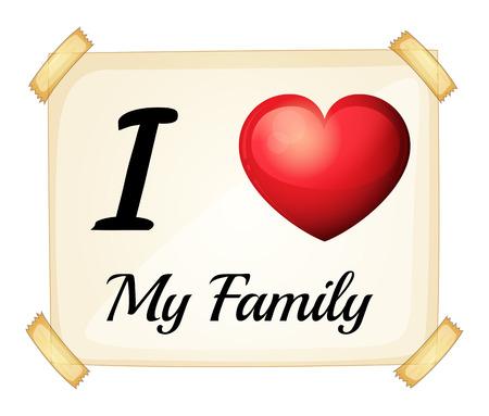 familias unidas: Me encanta mi signo familia
