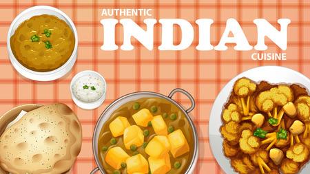 curry: Aut�ntica cocina india en el men�