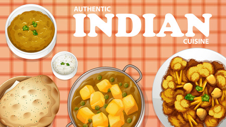 indian food: Authentic Indian cuisine on the menu