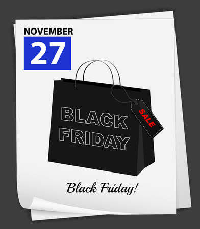 department store: November 27 is black friday