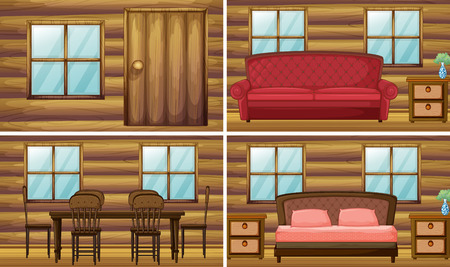 interior desing: Many rooms in the house