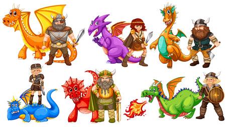 vikingo: Tribus vikingas y muchos dragones