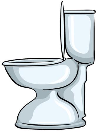 asiento: Cierre de inodoro con la tapa abierta