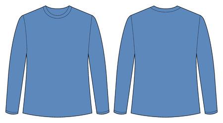 the shirt: Vista frontal y posterior de la camiseta