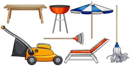 objetos de la casa: Diferentes tipos de objetos dom�sticos