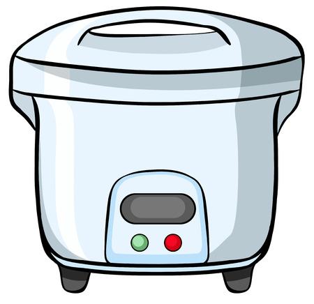 rice cooker: Cierre de cocina el�ctrica de arroz